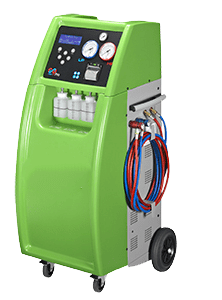 Máquina gases fluorados